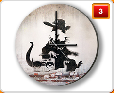 Banksy Clocks