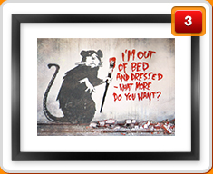 Banksy Framed Prints