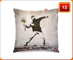 Banksy Cushions