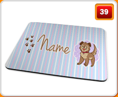 Personalised Children's Names Placemat