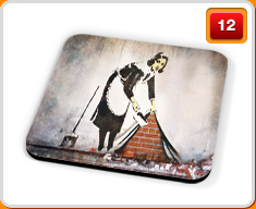 Banksy Drinks Coasters