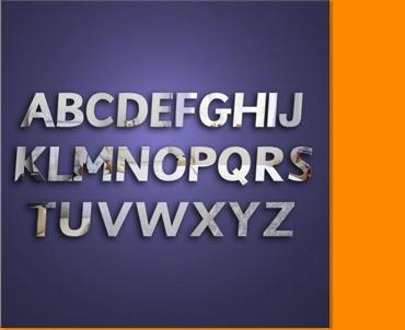 Alphabet School Pack Letters Mirror