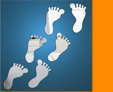 Baby Feet Mirror