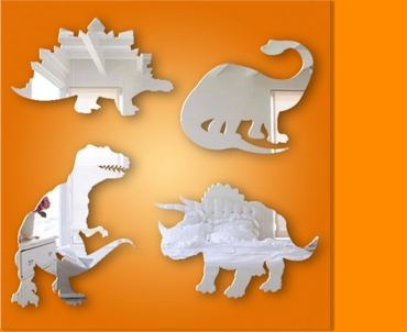 Dinosaur Set Mirror