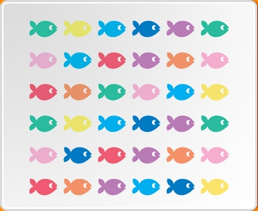 Fish Set Wall Sticker Part 85