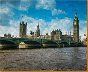 London Westminster Canvas Art Print