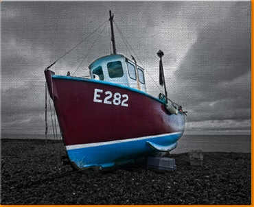 Low Tide 3 Canvas Art Print