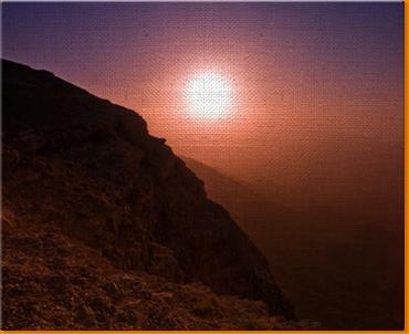 Ramon Crater Canvas Art Print