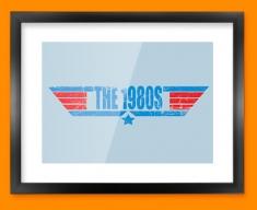 1980s Framed Print