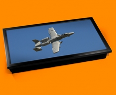 A 10 Thunderbolt Fairchild Republic Plane Cushion Laptop Tray