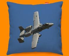 A 10 Thunderbolt Fairchild Republic Plane Sofa Cushion