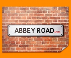 Abbey Road UK Street Sign Poster