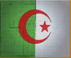 Algeria Canvas Art Print