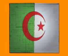 Algeria Flag Napkins (Set of 4)