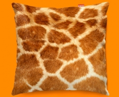 Animal Skin Giraffe Funky Sofa Cushion 45x45cm