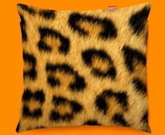 Animal Skin Leopard Funky Sofa Cushion 45x45cm