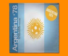 Argentina 78 Flag Napkins (Set of 4)