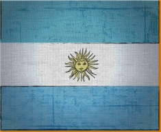 Argentina Canvas Art Print