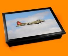 B 17 Flying Fortress Boeing Plane Cushion Lap Tray