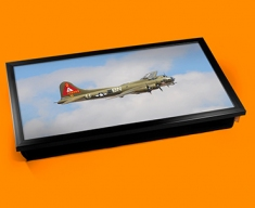 B 17 Flying Fortress Boeing Plane Cushion Laptop Tray