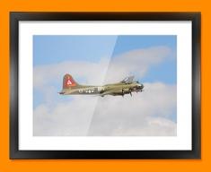 B 17 Flying Fortress Boeing Plane Framed Print