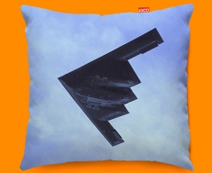B 2 Spirit Northrop Grumman Plane Sofa Cushion