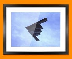 B 2 Spirit Northrop Grumman Plane Framed Print