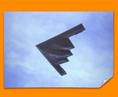 B 2 Spirit Northrop Grumman Plane Poster