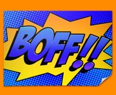 BOFF Comic SFX Poster