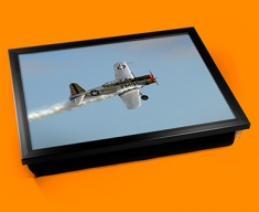BT 13 Valiant Vultee Plane Cushion Lap Tray