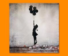 Banksy Balloons Napkins (Set of 4)