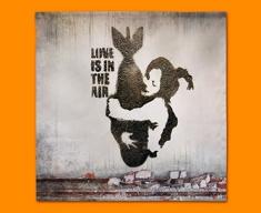 Banksy Bomb Hug Napkins (Set of 4)