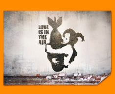 Banksy Bomb Hug Poster