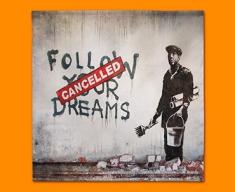 Banksy Dreams Cancelled Napkins (Set of 4)