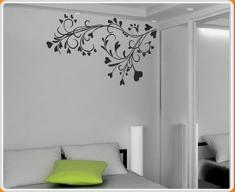 Baroque Flower Wall Sticker