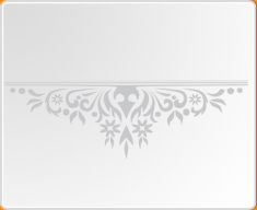 Baroque Mantle Wall Sticker