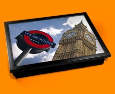 Big Ben Under Ground  Cushion Lap Tray
