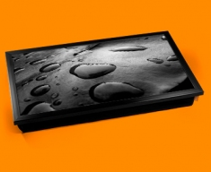 Black Water Laptop Lap Tray