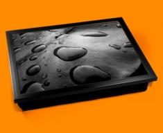 Black Water Cushion Lap Tray