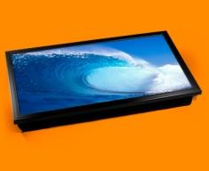 Blue Wave Laptop Computer Lap Tray
