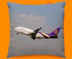 Boeing 747 Plane Sofa Cushion