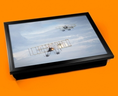Bristol Boxkite and Avro Triplane Plane Cushion Lap Tray