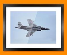 Buccaneer Blackburn Plane Framed Print
