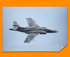 Buccaneer Blackburn Plane Poster