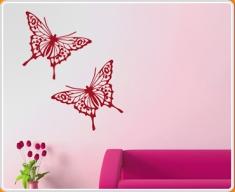 Butterfly Sticker Set of 2 Wall Sticker