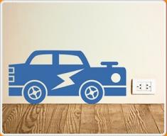 Car Supersize Wall Sticker