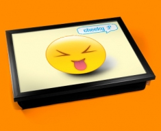 Cheeky Emoticon Lap Tray