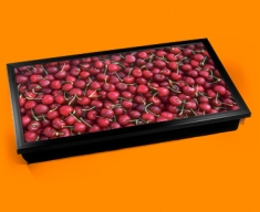 Cherries Laptop Lap Tray