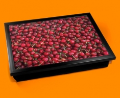 Cherries Cushion Lap Tray