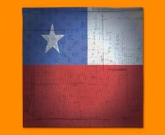 Chile Flag Napkins (Set of 4)
